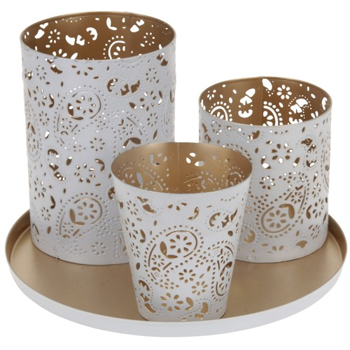 Evmanya Tealight Set 21 Cm Oval 2