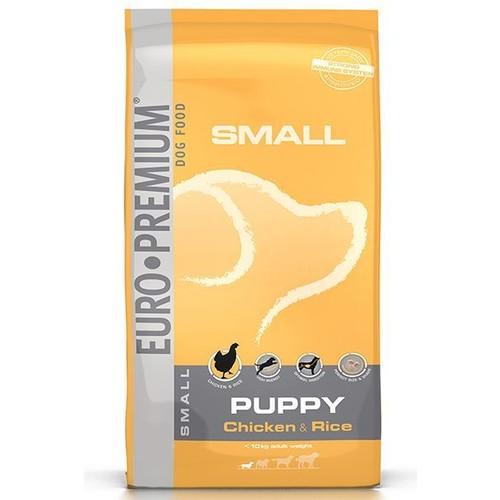 Euro Premium Small Puppy Tavuklu Küçük Irk Yavru Köpek Maması 12 Kg
