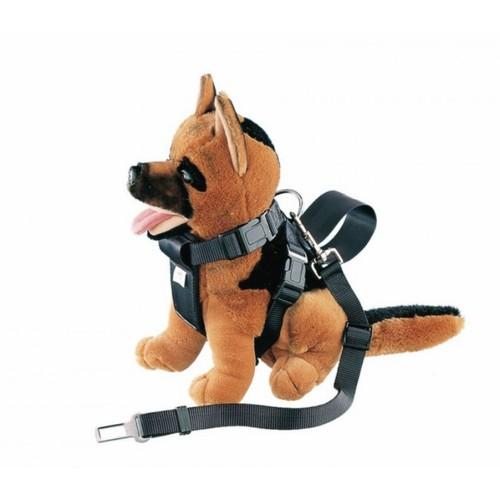 Nobby ''Safety Belt'' Beden Tasmalı Köpek Emniyet Kemeri Siyah
