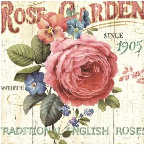 Fotocron Dekoratif Tablo Rose Garden