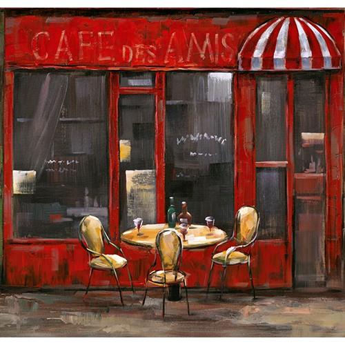 Fotocron Dekoratif Tablo Cafe
