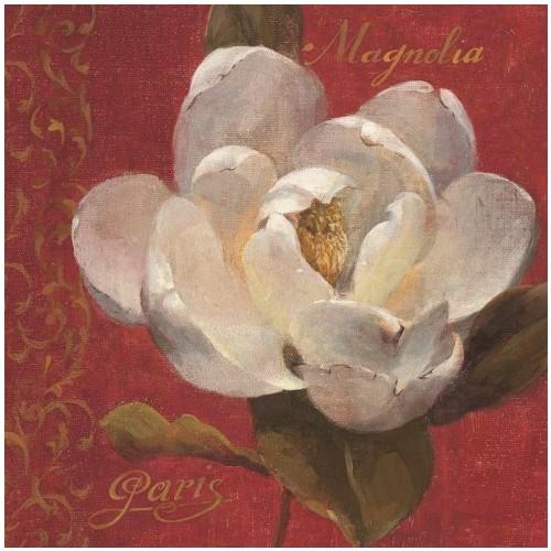 Fotocron Dekoratif Tablo Beyaz Çiçek