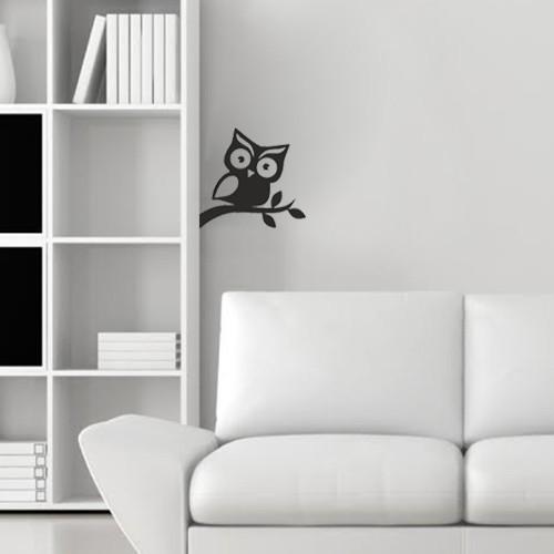 I Love My Wall Baykuş Sticker ( Sticker hediyeli! )