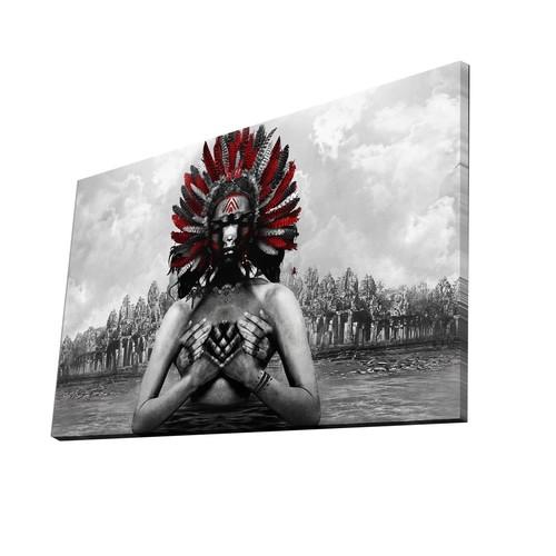 Mania 45x70 cm Dekoratif Kanvas Tablo 70