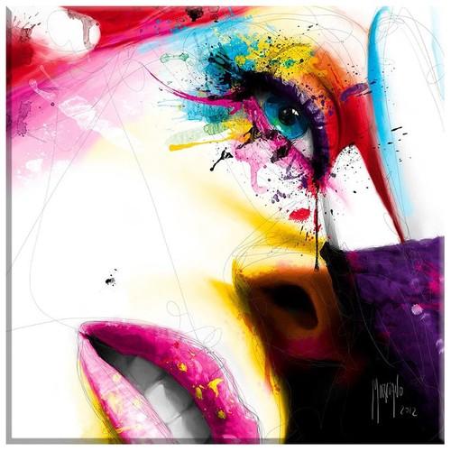 Arte Çizim Yüz Kanvas Tablo