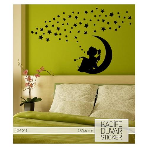 Artikel Hayal Kadife Duvar Sticker 46x46 cm DP 311