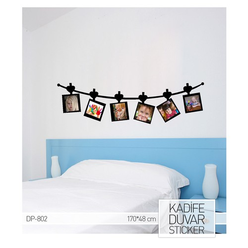 Artikel Lovely Family 2 Kadife Duvar Sticker 48x170 cm DP 802