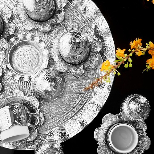 Sena Lalezar Fincan Kahve Seti 6 Kişilik