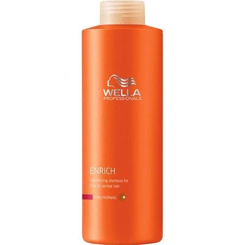 Wella Enrich İnce Telli/Normal Saçlar İçin Hacimlendirici Şampuan 1000ml