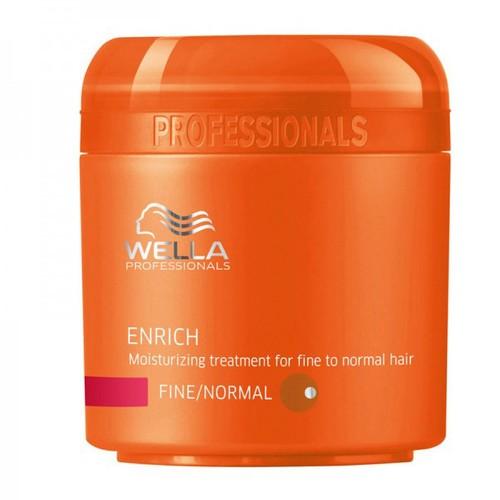 Wella Enrich İnce Telli/Normal Saçlar İçin Nemlendirici Bakim Maskesi 150ml