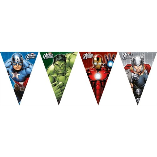 Marvel Yenilmezler Bayrak - 2.3 metre