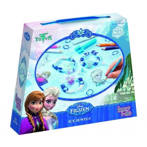Disney Frozen Elsa Bileklik - Bilezik Kendin Yap (Buz Mücevheri)