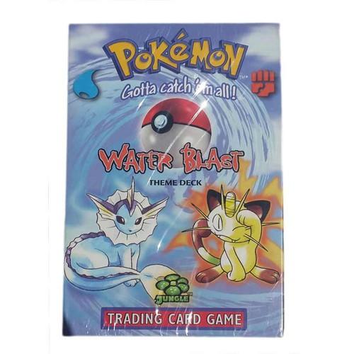Pokemon Oyun Kartı Kutulu 60 Adet - Water Blast
