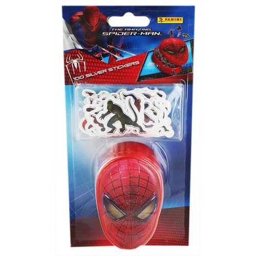 Spiderman Sticker - Gümüş 100'lü