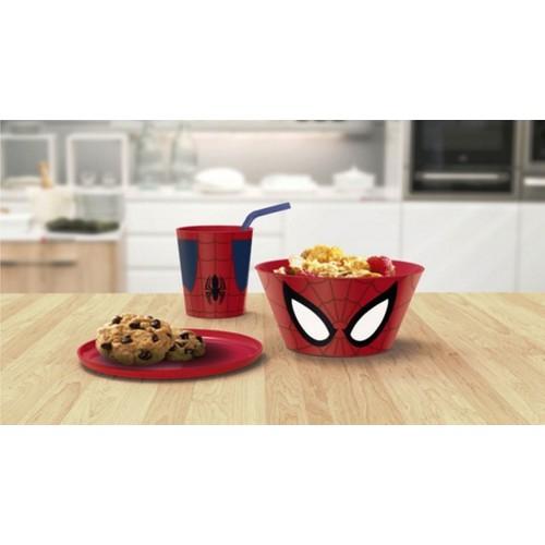 Örümcek Adam 3'lü Yemek Seti - Plastik