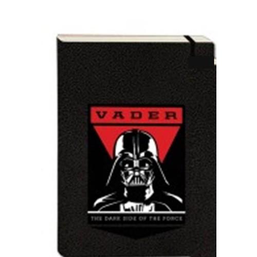 Star Wars Defter Darth Vader Desenli A4 Sert Kapaklı Çizgili
