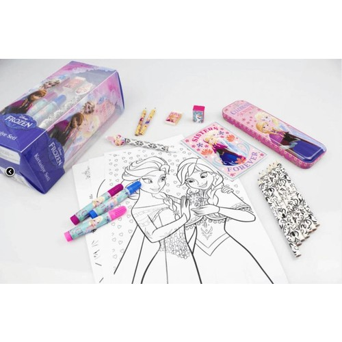 Frozen Elsa Kırtasiye Boyama Kalemleri, kalem kutu ve defter