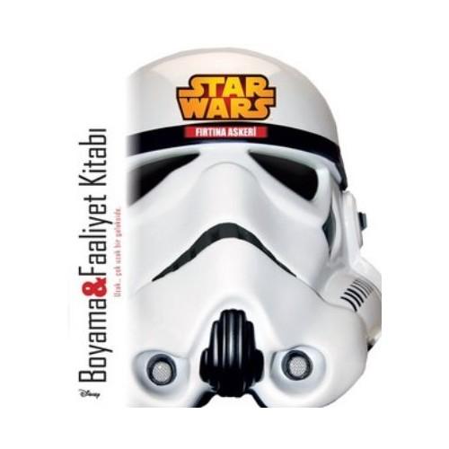 Star Wars Fırtına Askeri Boyama ve Faaliyet Kitabı