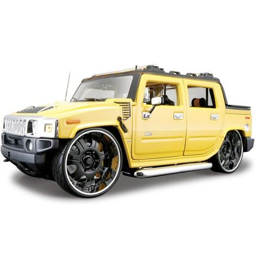 Maisto Hummer H2 Sut Concept 1:18 Model Araba AllStars Sarı