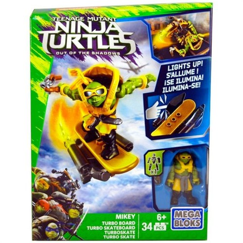 Mega Bloks Ninja Kaplumbağalar Movie Mikey Oyun Seti