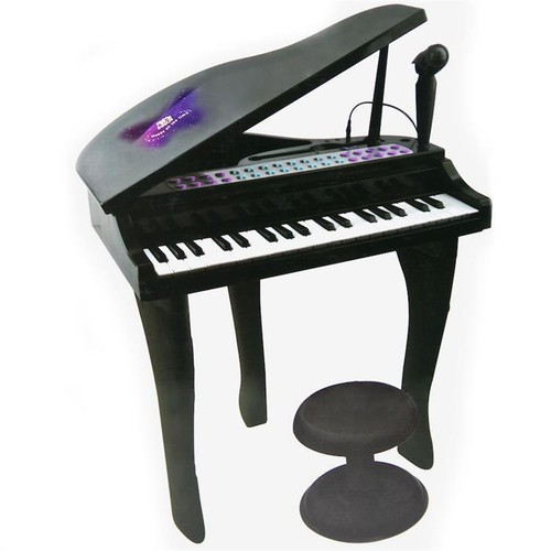 Mini Piyano 37 Tuşlu Siyah