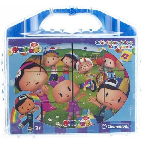 Clementoni Küp Çocuk Puzzle 12 Pepee