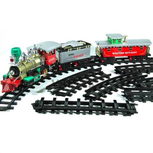 Işıklı Sesli Tren Set 19 Parça 450 cm