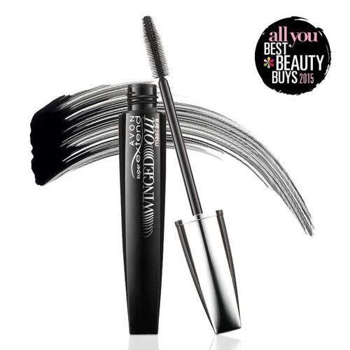 Avon Super Extend Winged Out Maskara - Blackest Black - 7ml