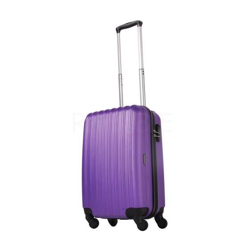 Ground Kabin Boy Valiz 4 Tekerlekli Bavul Mor 10522