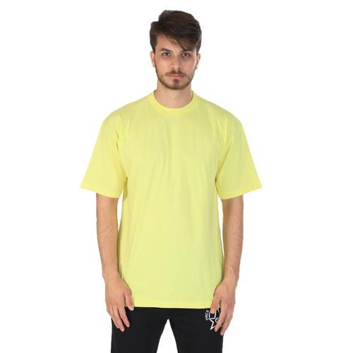 Sportive Bisiklet Yaka Penye T-Shirt