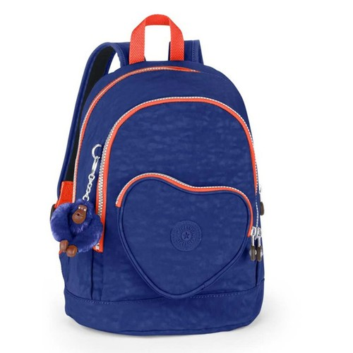 Kipling Heart Backpack Bts Sırt Çantası Star Mavi K21086-56I