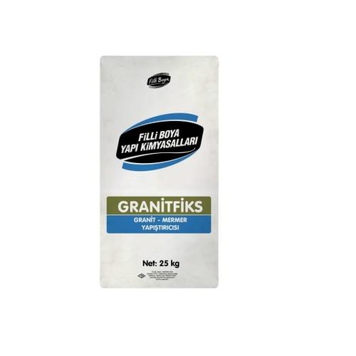 Filli Boya Granitfiks Granit Mermer Yapıştırıcısı 25 kg Beyaz