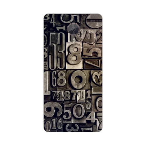 Bordo General Mobile Discovery Gm5 Plus Kapak Kılıf Baskılı Silikon