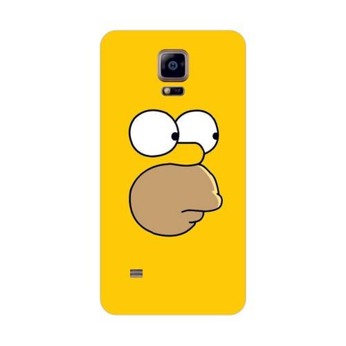 Bordo Samsung Galaxy Note 4 Kapak Kılıf Baskılı Silikon