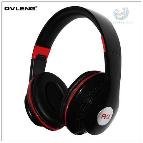 Ovleng A9 Siyah Mikrofonlu Kulaklık