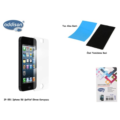 Addıson Ip-551 Iphone 5 Dıamond Ekran Koruyucu