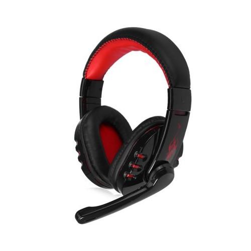 Vykon V8-1 Siyah-Kırmızı Mikrofonlu Bluetooth Kablosuz Kulaklık