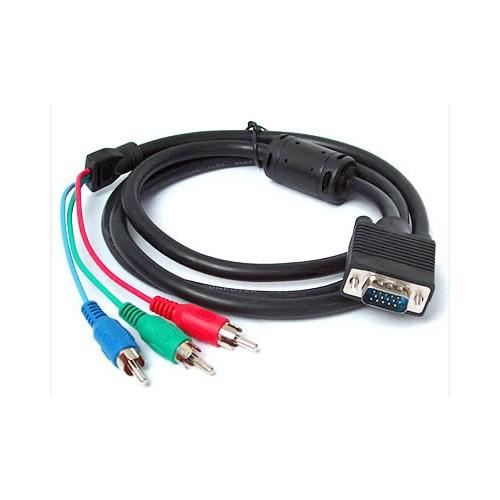 C.Speeds Lıne 1.5 Metre Siyah Vga To Rgb Kablo
