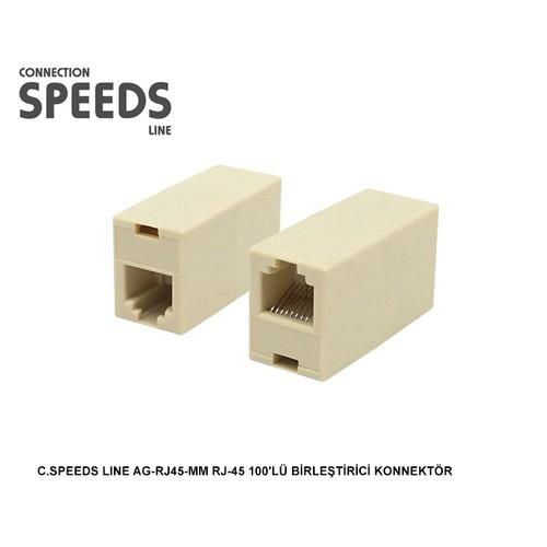 C.Speeds Lıne Ag-Rj45-Mm Rj-45 Birleştirici Konnektör