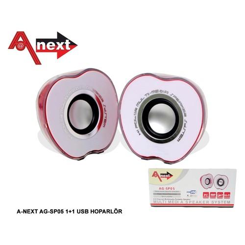 Aneex Ag-Sp05 1+1 Usb Hoparlör