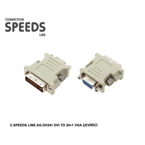 C.Speeds Lıne Ag-Dv241 Dvı To 24+1 Vga Çevirici
