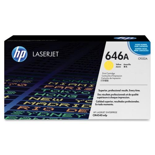 HP 646A / CF032A / CM4540 Sarı Orjinal Toner