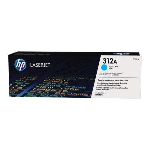 HP 312A / CF381A / M476 Mavi Orjinal Toner
