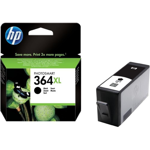 HP 364XL CN684E Yüksek Kapasite Siyah Orjinal Kartuş / HP Photosmart B8550 / C53244 / C5380 / C63244 / C6380 / D5460 / 5510 Kartuş