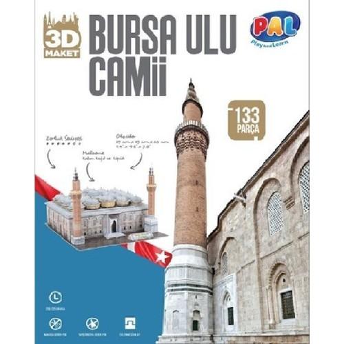 Pal - Bursa Ulu Cami 3D Maket (Yeni)