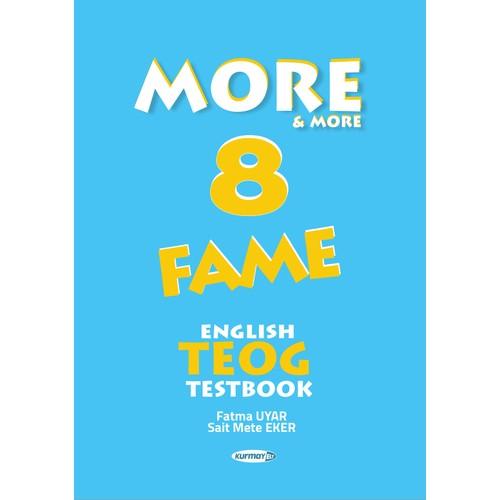 More & More 8: Fame English Teog Testbook Kurmay Yayınları