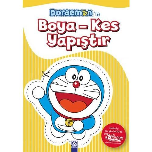 Doraemon'La Boya-Kes Yapıştır