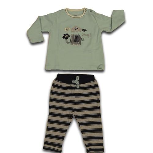 İdil Baby 8058 3'Lü Tulum Takımı Yeşil