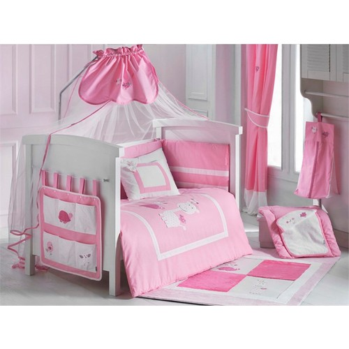 Dinoboo Lovely Animals Pink 8 Parça Park Yatak Uyku Seti 70X110