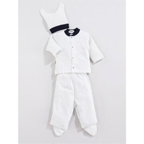 Sebi Bebe 052229 3'Lü Yıldız Pijama Takımı